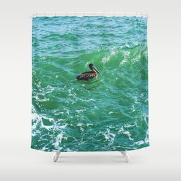 Waterbird Shower Curtain