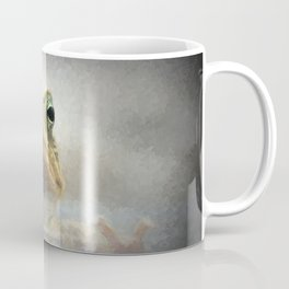 Frog from Front Painting Style Coffee Mug