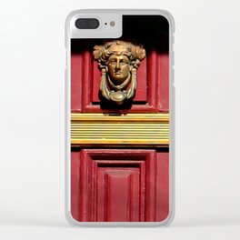 Stage Door 1889 - Please Knock Clear iPhone Case