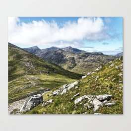 Glencoe Pass II, Scotland Canvas Print