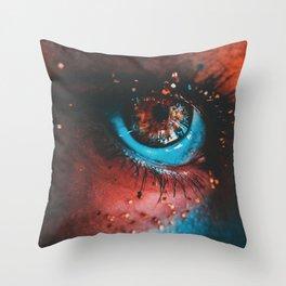 Clean light Throw Pillow