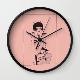 Strawberries & Cream, 2018 Wall Clock