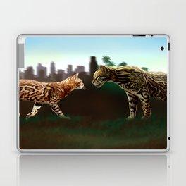 Meet the wild brother Laptop & iPad Skin