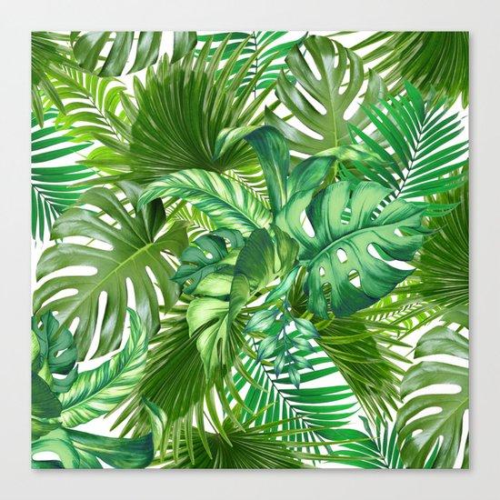 green tropic Canvas Print