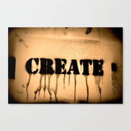 Create 2 Canvas Print
