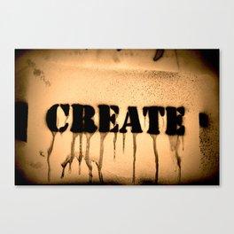 Create 2 Canvas Print