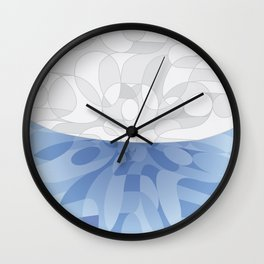 Air Pocket Wall Clock