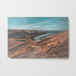Cape Kidnappers Trail Metal Print