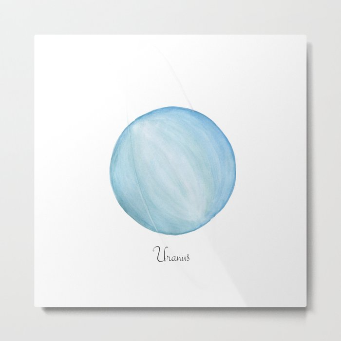 Uranus planet Metal Print