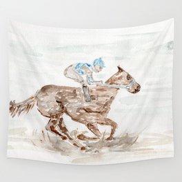 Race Horse, Derby, Kentucky, Wall Tapestry