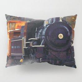 The Rail Yard  -  Steam Train Pillow Sham