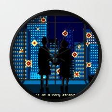 fight club Wall Clock