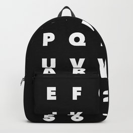 English Alphabets For Kids Backpack