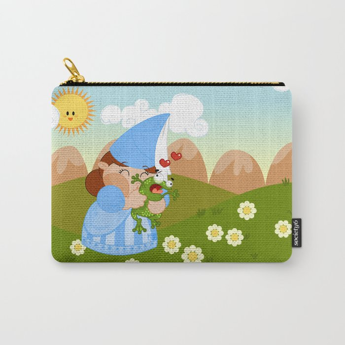 kissing the enchanted frog Carry-All Pouch