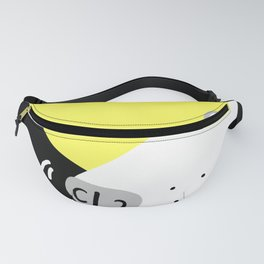 Dog Sniffing Kite by the Light of the Moon Fanny Pack