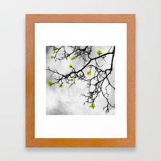 Wintertree Abstract Framed Art Print