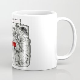 Dead-Pool goin' back in time & reality 3D Coffee Mug