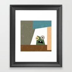 Monster Within  Framed Art Print