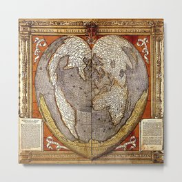 Heart of the World Metal Print