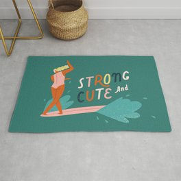 Strong and cute Rug