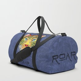 Roar / Retro Wild Cat Duffle Bag