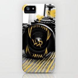 Lions lens iPhone Case