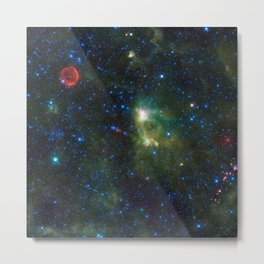 722. Tycho Supernova Remnant Metal Print