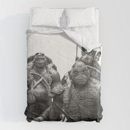 Green Teenage Heroes Comforters