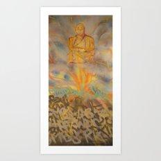 Seated Meditation Art Print