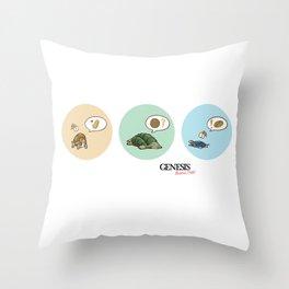 GBD : Tortles Throw Pillow