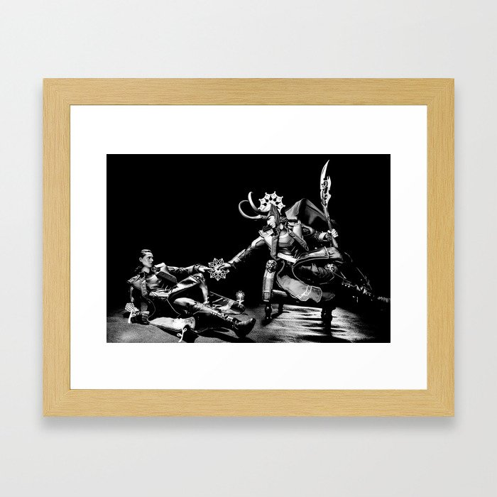 Creation of Loki... Not Framed Art Print