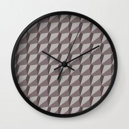 Solid 9 Placid Wall Clock