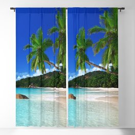 Turquoise Waters Blackout Curtain