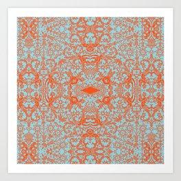 Lace Variation 04 Art Print