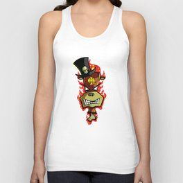 Trick Monkey - Voodoo Witch Doctor Unisex Tank Top