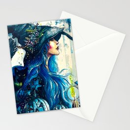 Witchy Woman (Halloween) Stationery Cards