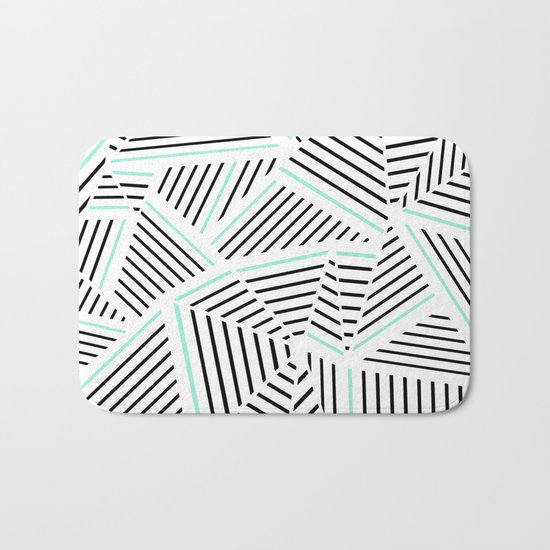 Ab Linear Zoom With Mint Bath Mat