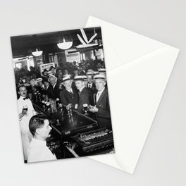 Drinking Before Wartime Prohibition - NYC - June 30, 1919 Stationery Cards