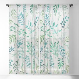 Getting Back To Nature Sheer Curtain