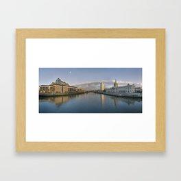 The Dublin City Framed Art Print
