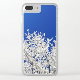 Hoarfrost Clear iPhone Case
