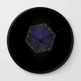Enter the Cosmos: Vertigo Wall Clock
