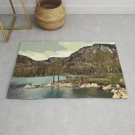 Emerald Bay Lake Tahoe Rug