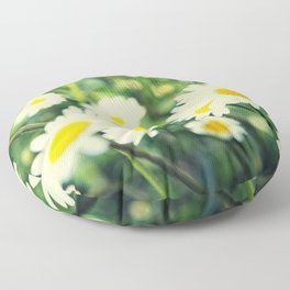 Chamomile flowers Floor Pillow