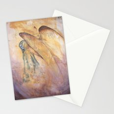 Angel of Death Painting Stationery Cards
