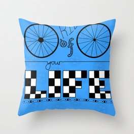 Ride of Your Life Throw Pillow