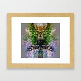 Heart of Reality Framed Art Print