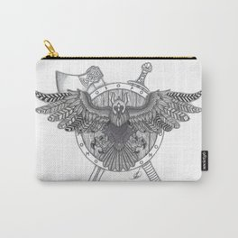 Viking Crow Carry-All Pouch