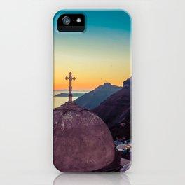 Adorable Santorini iPhone Case