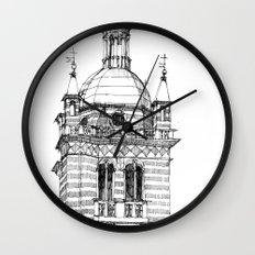 Campanile della  cattedrale di Genova Wall Clock